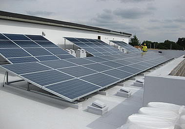 Northampton Solar panels PV on Simons House, Oxford