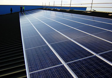 Solar panels PV for Weymouth & Portland Sailing Academy