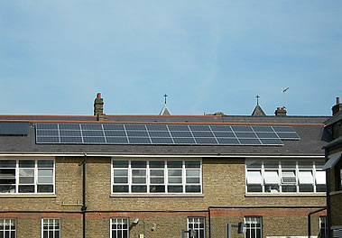 Solar installation - London School